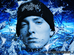 Eminem Water Splash