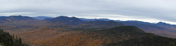Mt. Tripyramid Panoramic View of Waterville Valley