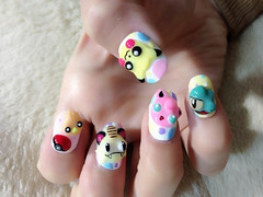 "Anime Fingernails 12 • <a style=""font-size:0.8em;"" href=""http://www.flickr.com/photos/66379360@N02/8440916584/"" target=""_blank"">View on Flickr</a>"