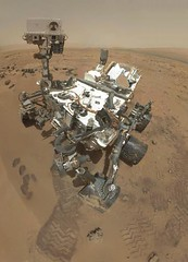 Self-Portrait of Curiosity by Rover's Arm Camera
