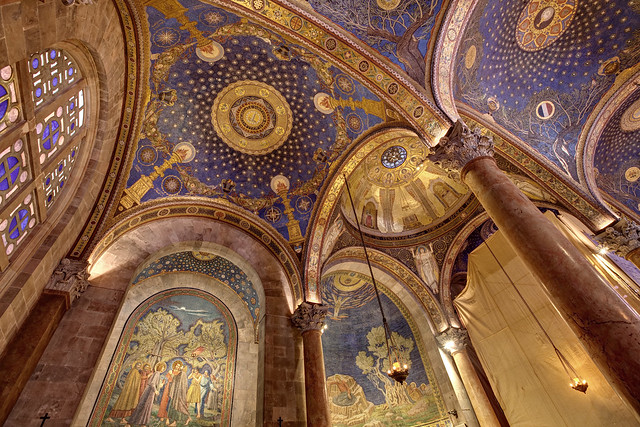Ceiling of the Church of All Nations