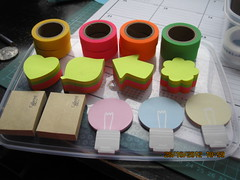 Solid Colour Washi Tape and Post-Its