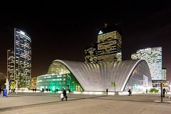 La Défense (Paris) - Night Shots - Vue sur le CNIT