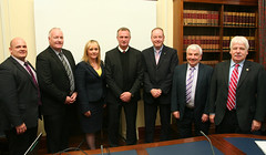 Northern Ireland manager attends Stormont briefing