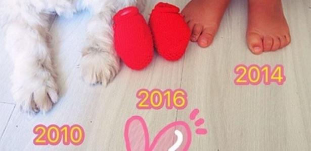 Nasce segundo filho da atriz Bárbara Borges