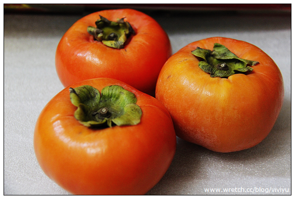 [分享]桃梨城柿~來自梨山果農.產地直送 @VIVIYU小世界