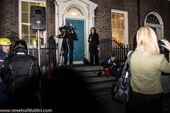 Dublin: Protest at Death of Savita Halapanavar