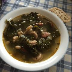 Sausage and kale soup #naturallyglutenfree #gf #glutenfree #paleo