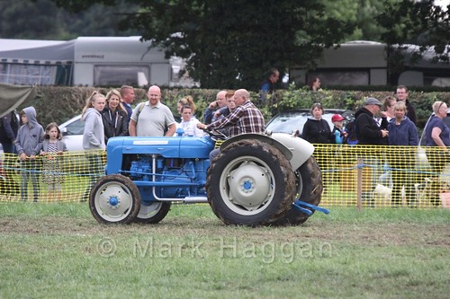 A tractor at the Shakerstone Festival 2016
