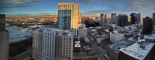 Denver panorama - Looking northwest from the H...
