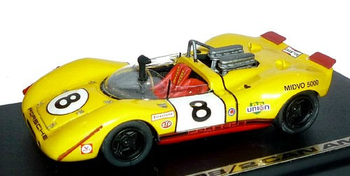 Fit Porsche 908-2 Can Am 1972