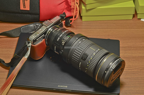 Olympus E-PM2 with Tokina 80-400mm