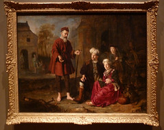 Jan Victors The Levite and his concubine at Gi...