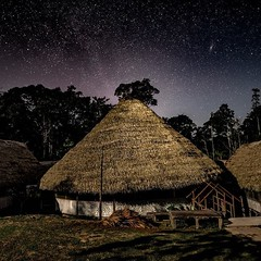Day 522. The meloka, where the ayahuasca ceremonies take place. #theworldwalk #travel #peru
