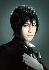 "Yuya Matsushita as Sebastian Michaelis • <a style=""font-size:0.8em;"" href=""http://www.flickr.com/photos/66379360@N02/8593889396/"" target=""_blank"">View on Flickr</a>"