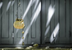 Decorative garden light