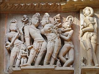 Le Temple de Lakshmana (Khajurâho)