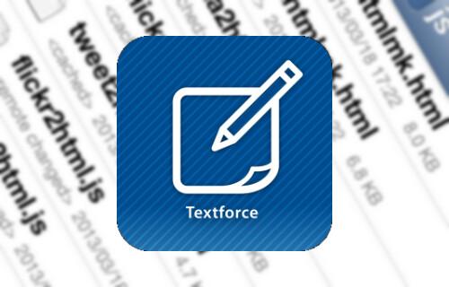 Textforceアイコン