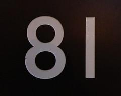 Number - 81