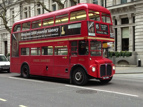One of the old Routemasters