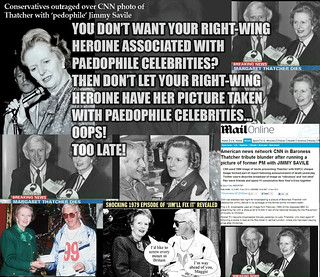 Thatcher and Savile time machine...