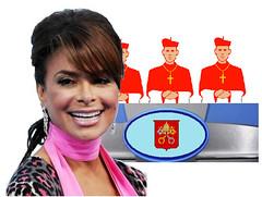 Paula Abdul Joins Papal Conclave