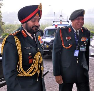 Chief of the Army Staff General Bikram Singh r...