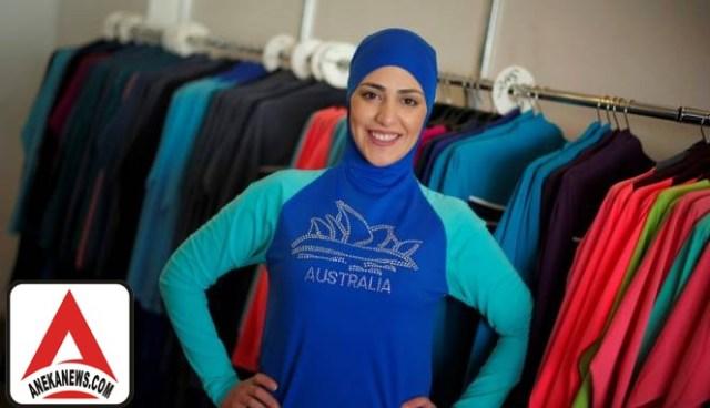 #Style: Ria Miranda Anggap Burkini Belum Syar'i