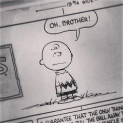 Original Peanuts cartoons #whatisawatworktoday