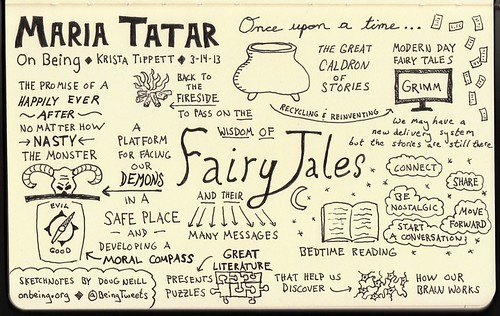 """Sketchnotes for """"The Great Cauldron of St..."""
