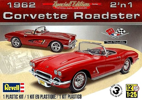 26 Revell 62 Corvette 2-in-1