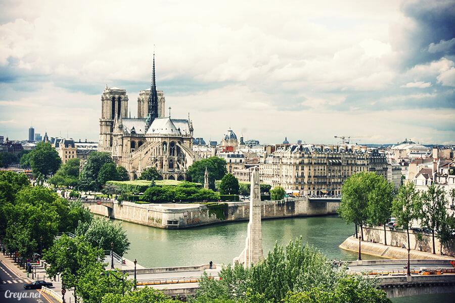 2016.10.02   看我的歐行腿  法國巴黎一日雙聖,在聖心堂與聖母院看見巴黎人的兩樣情 22