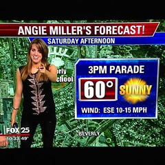 Angie Miller @angieai12 on Boston's Fox 25 New...
