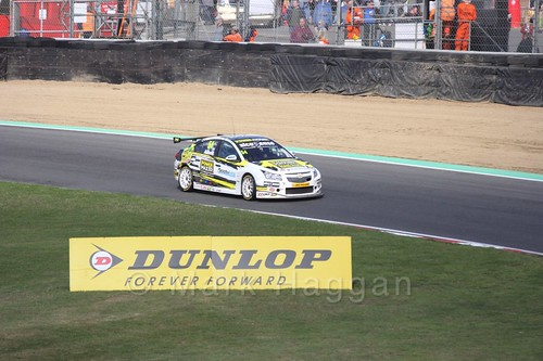 Hunter Abbott during the BTCC Brands Hatch Finale Weekend October 2016