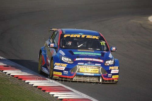 Andrew Jordan during the BTCC Brands Hatch Finale Weekend October 2016