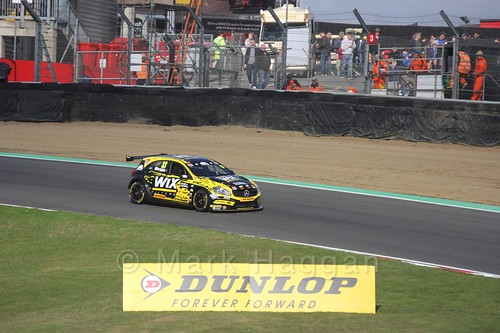 Adam Morgan during the BTCC Brands Hatch Finale Weekend October 2016