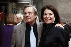 William Friedkin and his wife Sherry on the re...