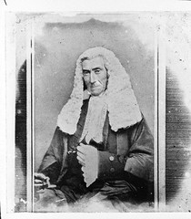 Portrait of a Judge in robes and wig