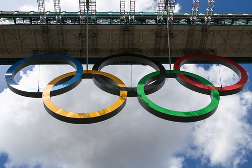 Bridge Olympic Rings