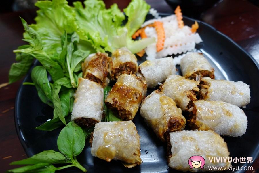 大有商圈,桃園小吃,桃園美食,紅築越食堂,越南美食 @VIVIYU小世界