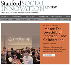 Today on the Stanford Social Innovation Review...