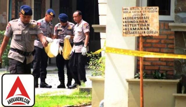 #Terkini: Garis Polisi Dibuka, Gereja Katolik Santo Yosep Normal Lagi