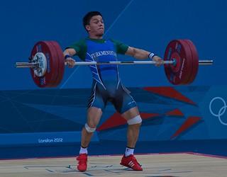 Umurbek Bazarbayev - Snatch - 135kg