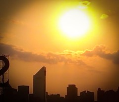 Sweltering Summer Sunset - Cell Phone Shot fro...
