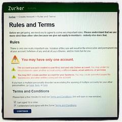 Hm, #Zurker schreit neue User ja erstmal kräft...