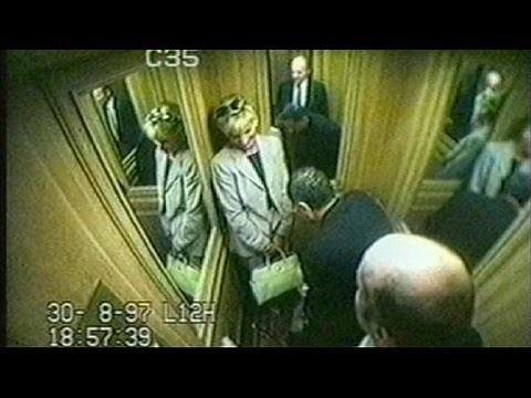 A última foto, quando Diana saía do hotel para entrar no carro que a levaria à morte