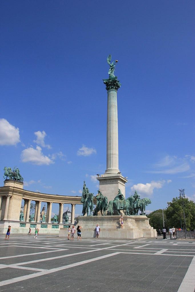 Hero Square- Budapest, Hungary