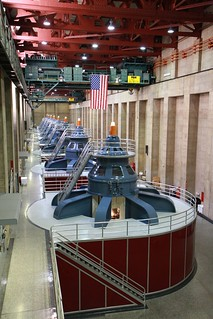 Turbines (Nevada side) - Hoover Dam