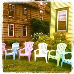 #maine #barharbor #adirondeck #chairs