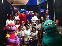 Sesame Workshop Volunteers!